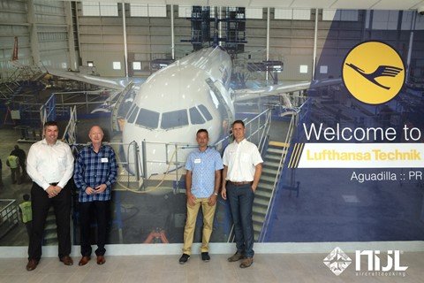 NIJL proudly participates in Grand Opening of Lufthansa Technik Puerto Rico facility