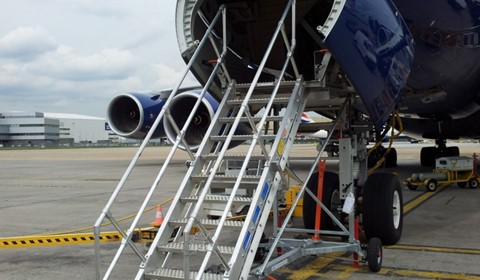 Nose and Body Landing Gear Stand