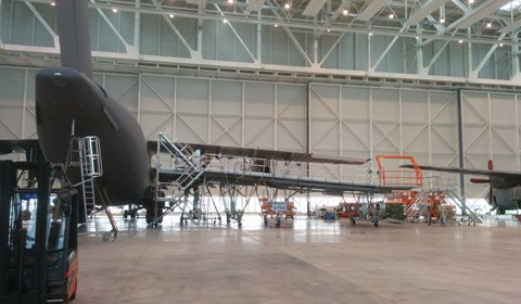 Wing and Fuselage Dock for A400M