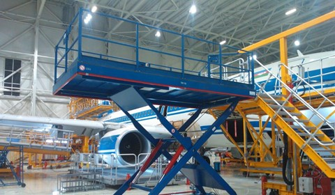 Interior Lift for Narrow Body Aircraft