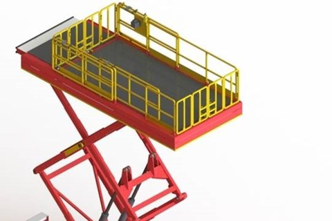 Interior Lift; for narrow and wide body, minimum footprint